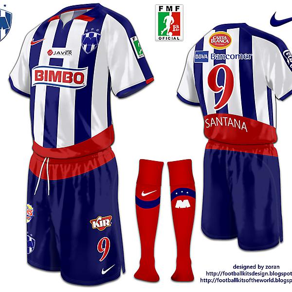CF Monterrey fantasy home