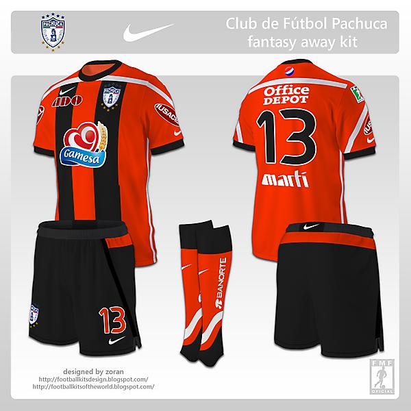 CF Pachuca fanatsy away