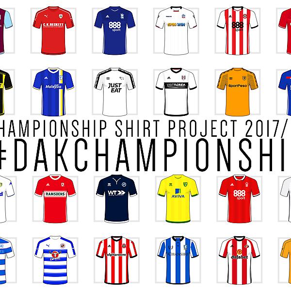 Championship Shirt Project 2017/18