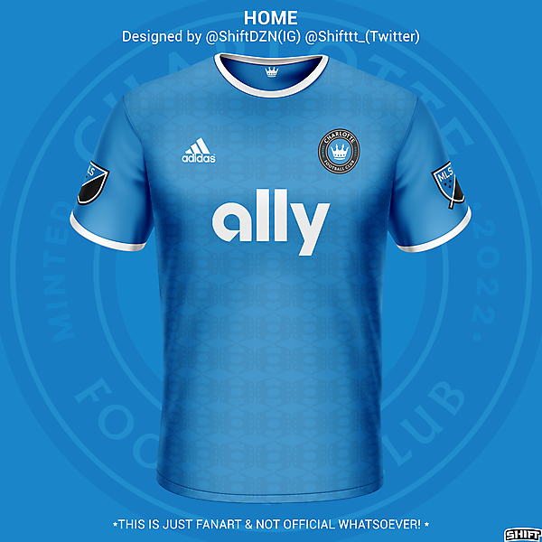 Charlotte FC Home Jersey Concept