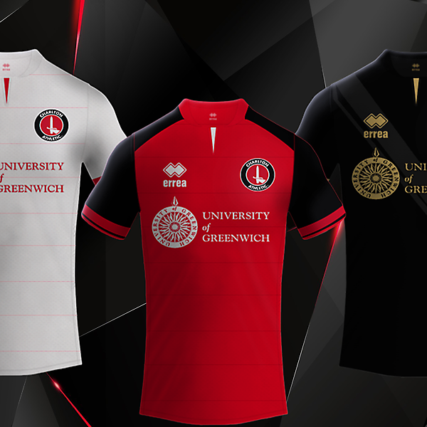 Charlton Athletic FC / ErreaFootball Kits