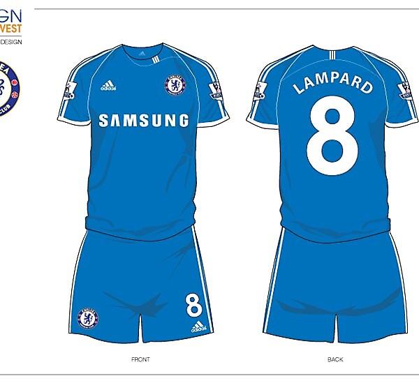 Fantasy Chelsea Football Kit