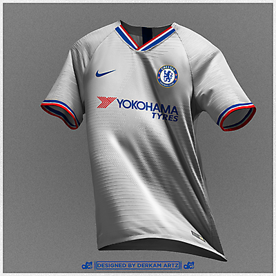 newest collection c3e06 a63ea Chelsea - Away Kit (2019/20)