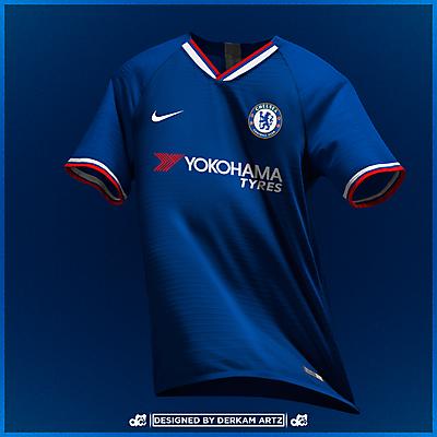 Chelsea - Home Kit (2019/20)