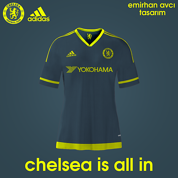 Chelsea 15/16 3rd Kit Design