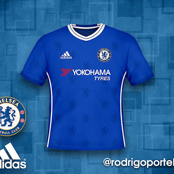 Chelsea 2016-17 home kit