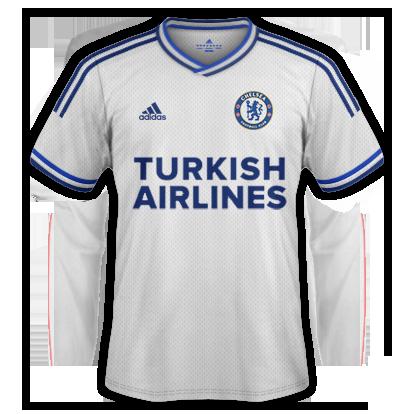Chelsea Away Kit 2015-16