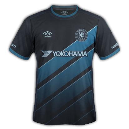 Chelsea Fantasy Away kit with Umbro