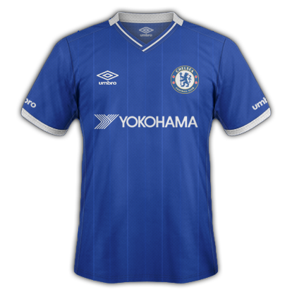 Chelsea Fantasy Home kit with Umbro