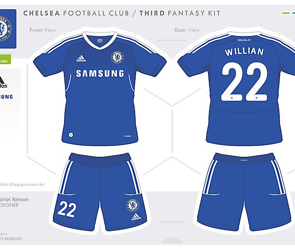 Chelsea FC - Fantasy Home Kit