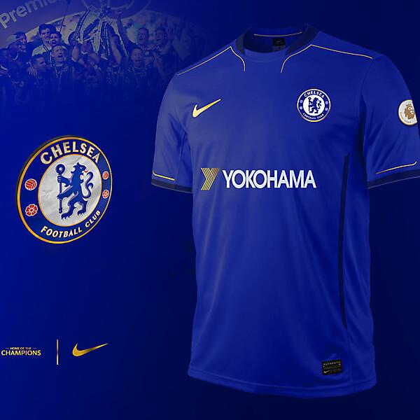 Chelsea F.C.   2017\18 kit