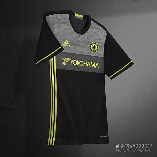 Chelsea FC Away 16/17 (predicción)