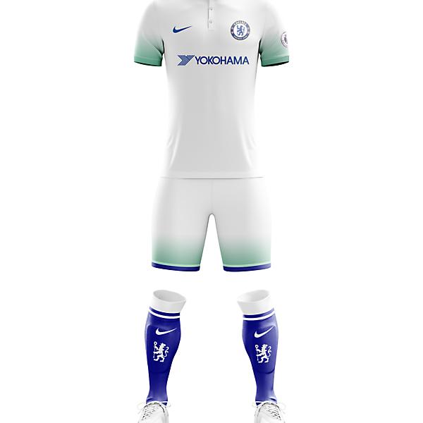 Chelsea F.C. Away Apparel for 2017/18 Season