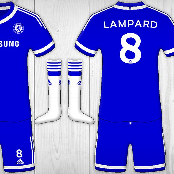 Chelsea FC Home - Adidas Kit