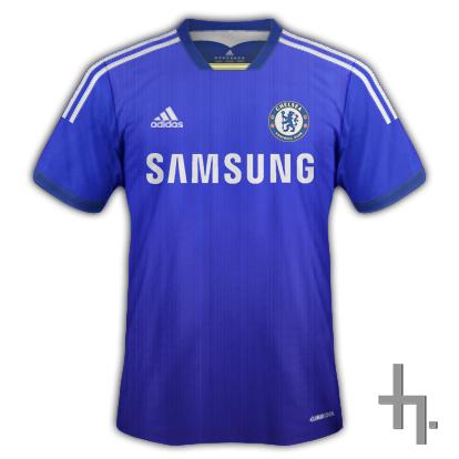 Chelsea FC Home Kit.