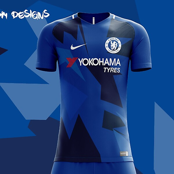 Chelsea F.C. Nike 2018 Home Kit