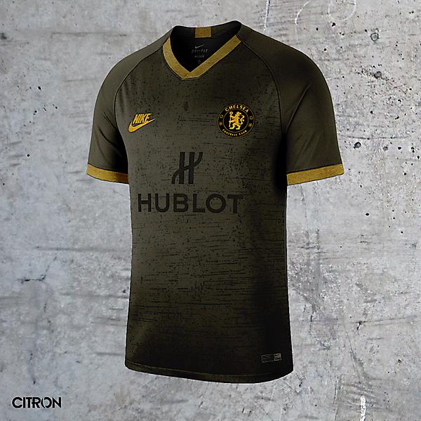 Chelsea FC Third Kit Concept