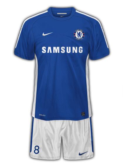 Chelsea Nike Home Kit