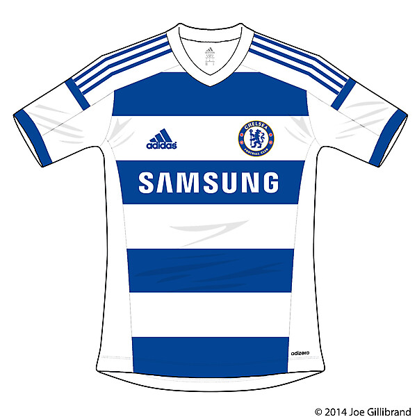 Chelsea Leaked Away kit 14/15