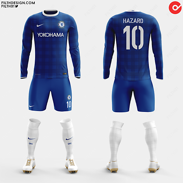 Chelsea x Nike | Home Kit