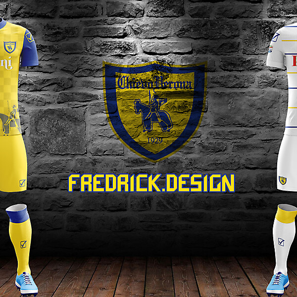 Chievo Verona x Givova x Home/Away
