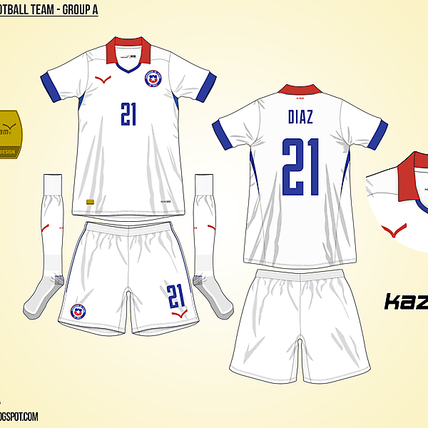Chile Away - Group A, 2015 Copa América