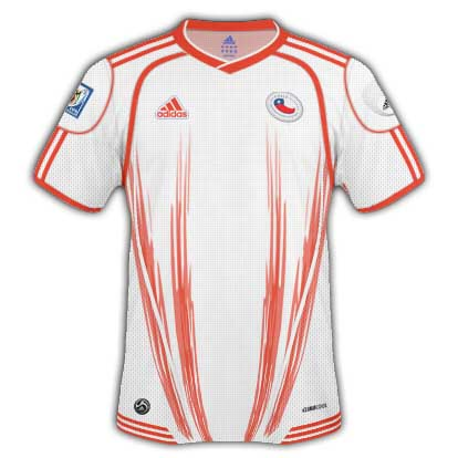 Chile 2010 World Cup Away Shirt