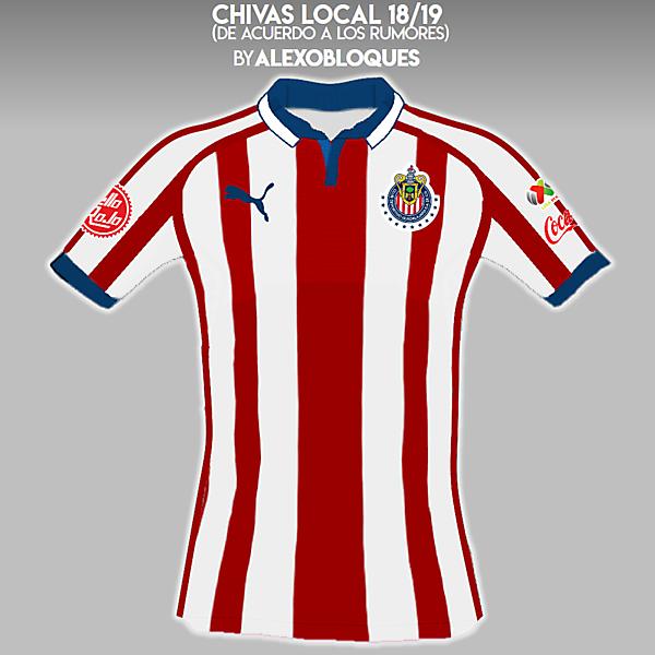 Chivas 18/19 (according to rumors)