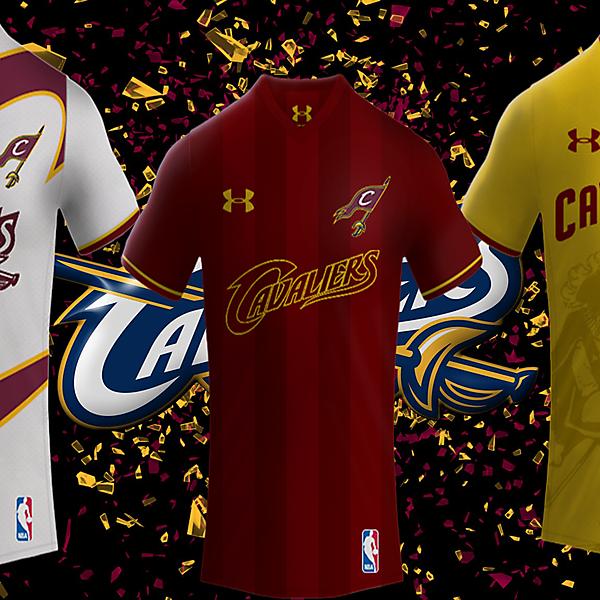 Cleveland Cavaliers Under Armour Football Kits