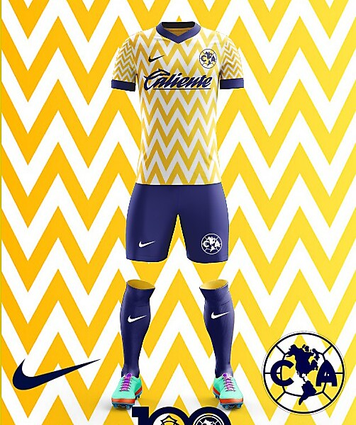 Club America 2018 Home Kit Nike