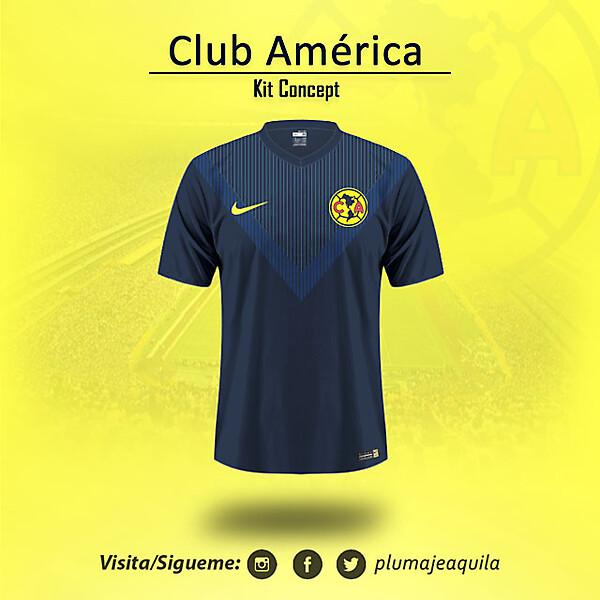 Club America Away KIt Concept
