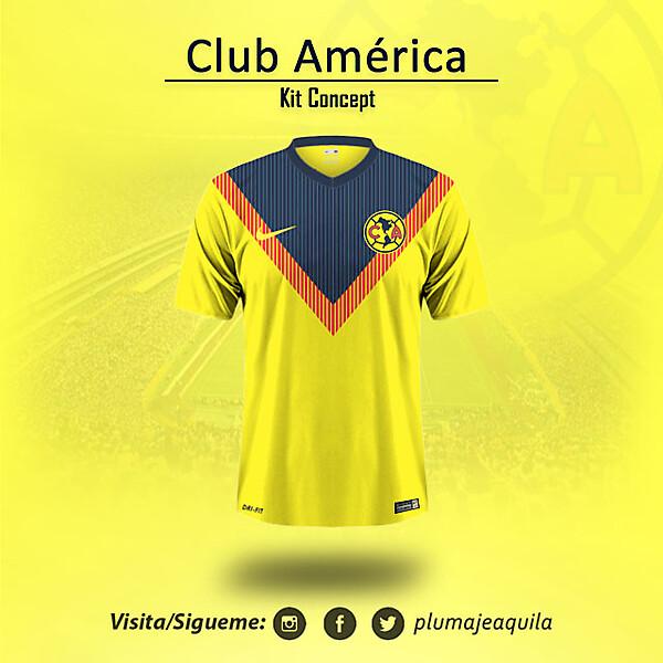 Club America Home KIt Concept