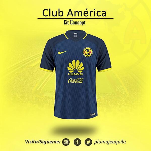 Club America KIt Concept