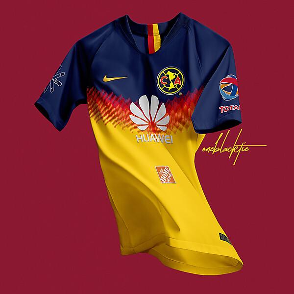 Club América (MEX) 2018-19 Home Jersey Concept