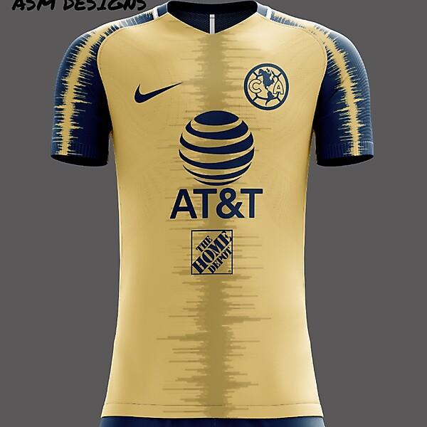Club América Nike 2020 Home Kit