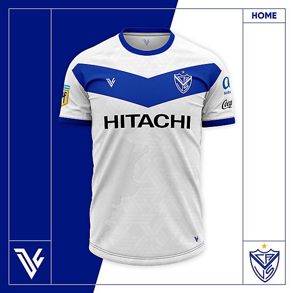 Club Atlético Vélez Sarsfield 2020/21 Home Concept