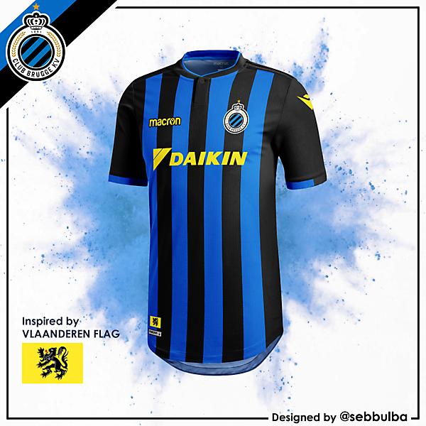 Club Brugge Home Jersey