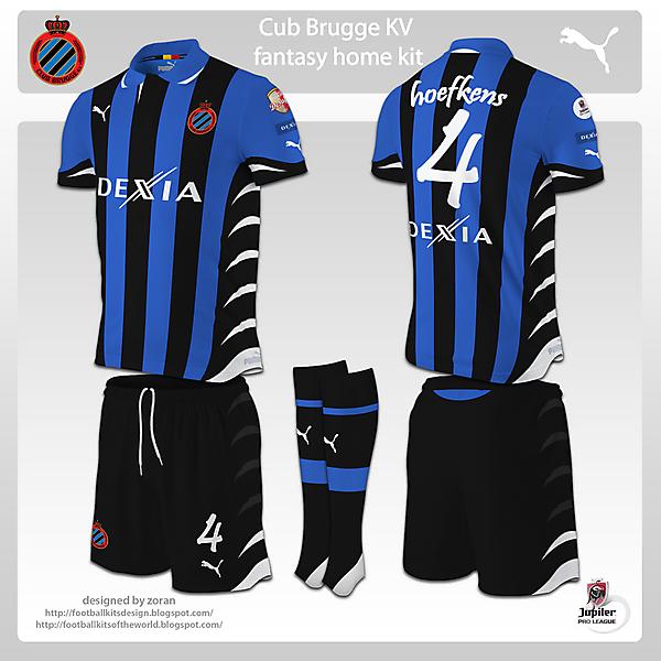 Club Brugge fantasy kits