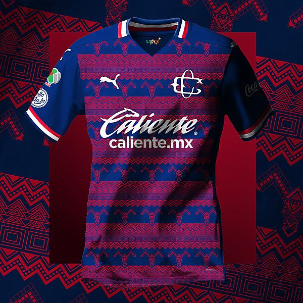Club Deportivo de Guadalajara Chivas Away Concept Jersey made by NachosMX