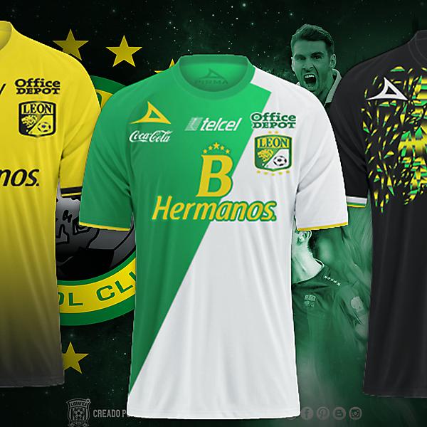Club Leon Fc / Pirma Kits