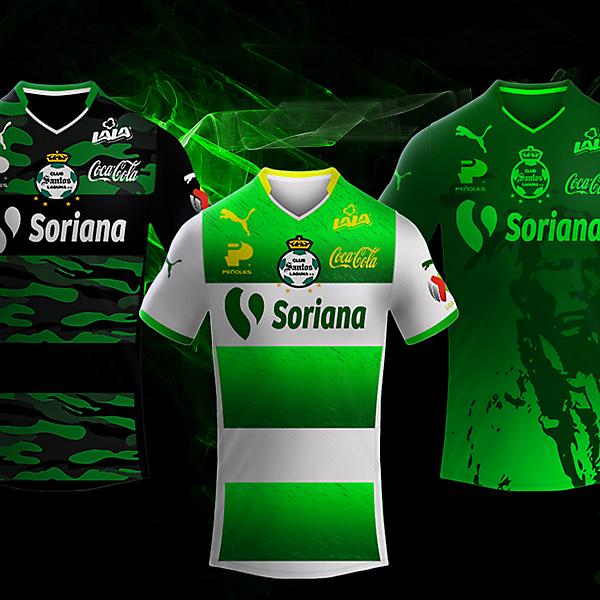 Club Santos Laguna Puma Kits