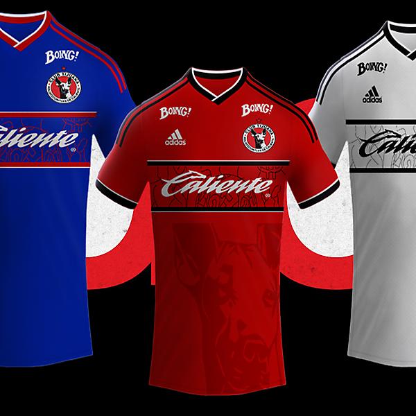 Club Tijuana Xoloitzcuintles de Caliente  Kits
