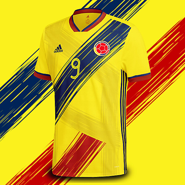 COLOMBIA ADIDAS VISION 4