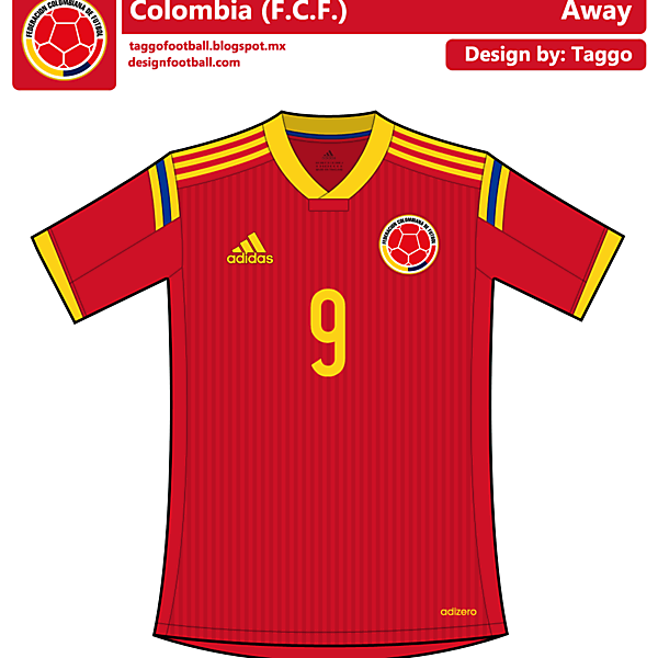 Colombia Red Kit.
