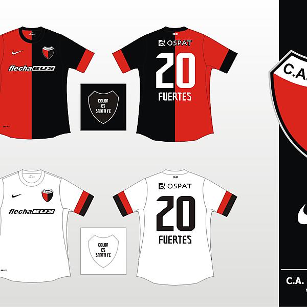 Colon de Santa Fe Nike 2012 - Version 1