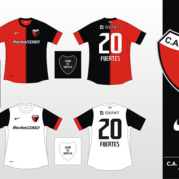 Colon de Santa Fe Nike 2012 - Version 3