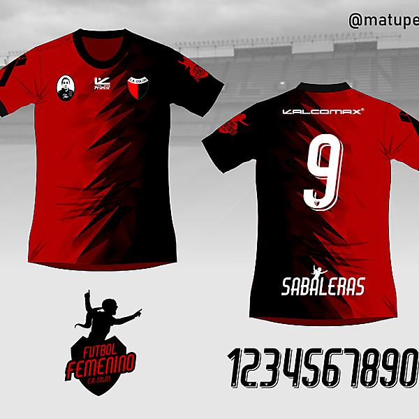 Colón de Santa Fe Womens Football shirt