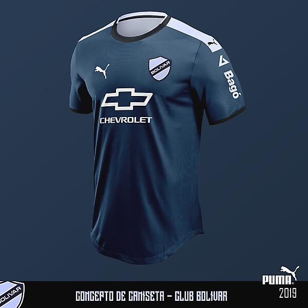 Concepto de camiseta - Club Bolívar - Puma 2019