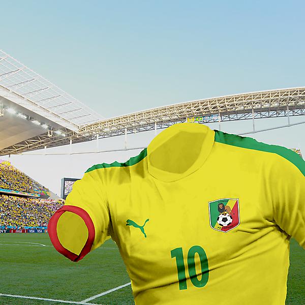 Congo - 1st kit
