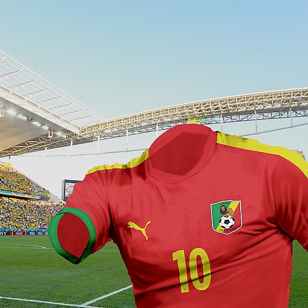 Congo - 3rd kit